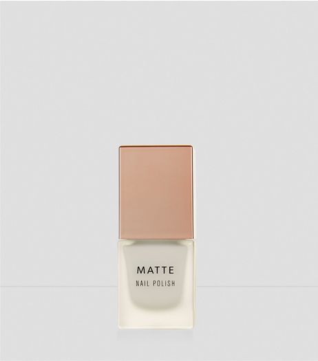 Ice White Matte Nail Polish | New Look