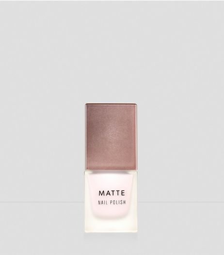 Antique White Matte Nail Polish | New Look