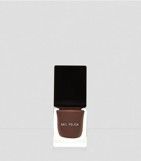 Intense Mocha Nail Polish | New Look