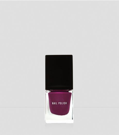 Mulberry Purple Nail Polish | New Look