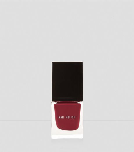 Raspberry Red Nail Polish | New Look