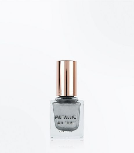 Champagne Supernova Metallic Nail Polish | New Look