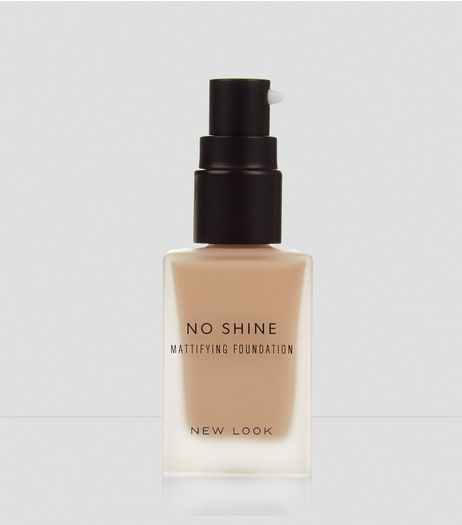 Natural Beige No Shine Mattifying Foundation | New Look