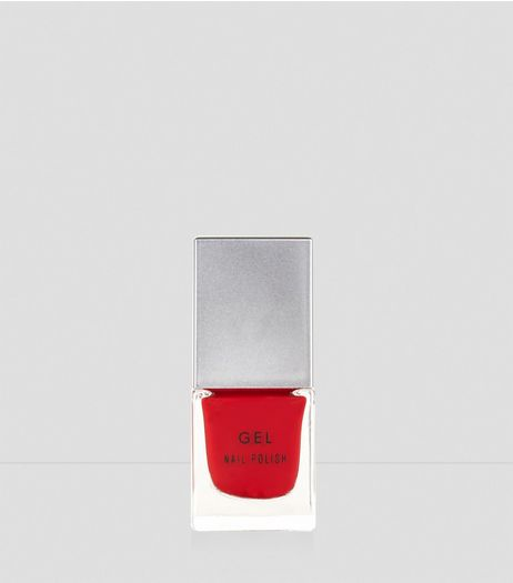 Cherry Red Gel Nail Polish | New Look