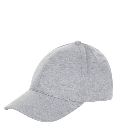 Grey Jersey Cap | New Look