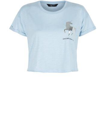 teens-blue-foil-unicorn-crop-top