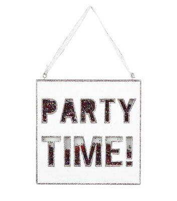 Product photo of Gold party time shake plaque