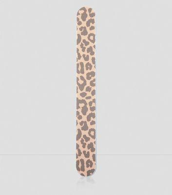 Leopard Print Nail File
