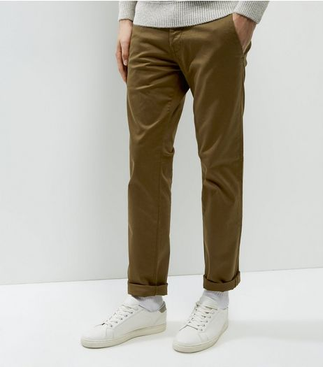 Brown Slim Chinos | New Look