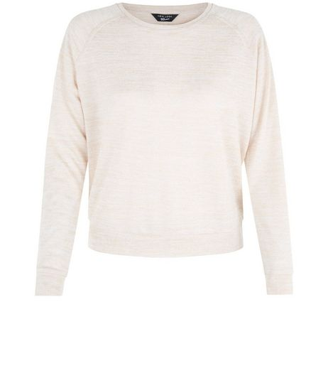 Teens Pink Long Sleeve Jumper | New Look