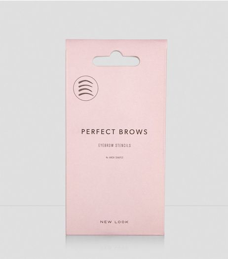 4 Pack Eyebrow Stencils | New Look