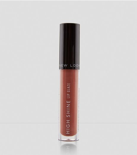 Mocha Brown High Shine Lip Glaze | New Look