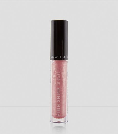 Pink Pearls High Shine Lip Glaze | New Look