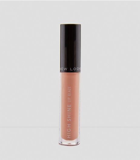 Nude Pink High Shine Lip Glaze | New Look