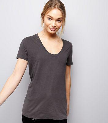 Dark Grey Short Sleeve T-Shirt