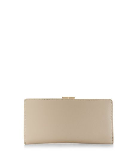 Cream Fold Over Purse | New Look