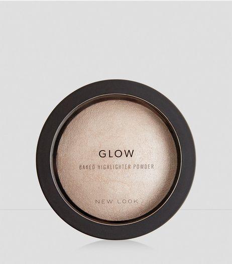 Pink Pearls Glow Baked Highlighter Powder | New Look