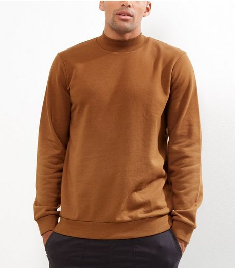 Tan Turtle Neck Sweater | New Look