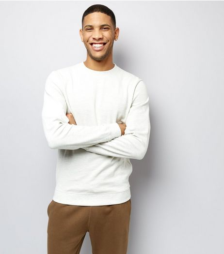 Oatmeal Crew Neck Sweater | New Look