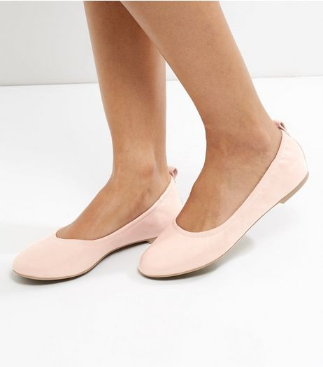 Cream Elasticated Pumps | New Look
