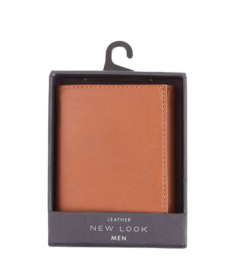 Tan Leather Wallet | New Look