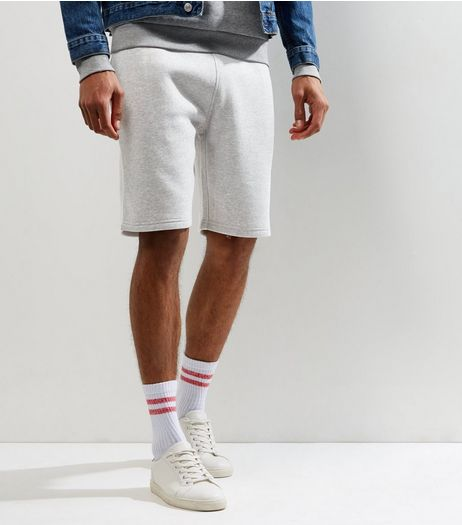 Grey Jersey Shorts | New Look