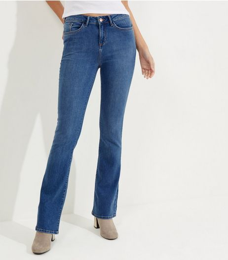 Blue Bootcut Jeans | New Look