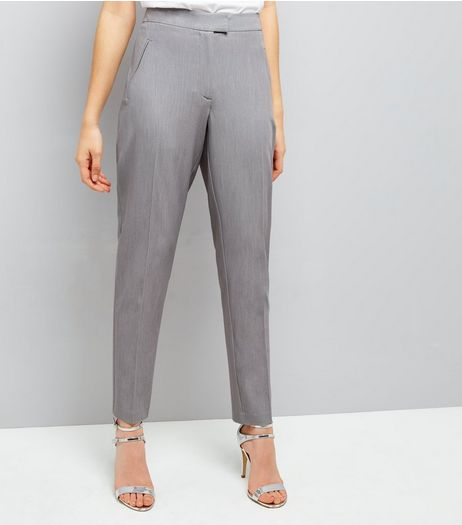 Grey Slim Leg Suit Trousers | New Look