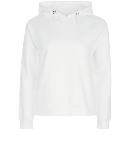 Teens White Hoodie  | New Look