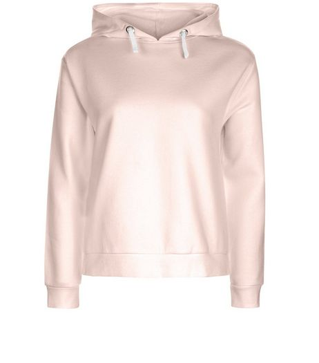 Teens Pink Long Sleeve Hoodie  | New Look
