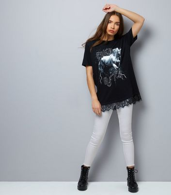 White High Waist Super Skinny Fray Hem Jeans