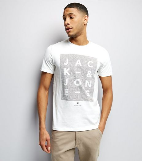Jack & Jones White Crew Neck T-Shirt | New Look