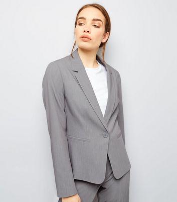 Pale Grey Suit Jacket