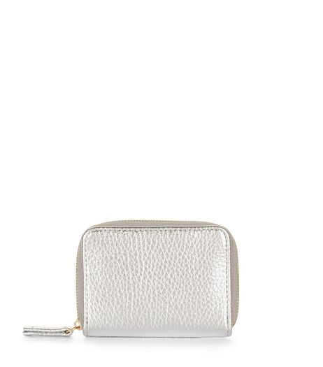 Silver Metallic Cardholder | New Look