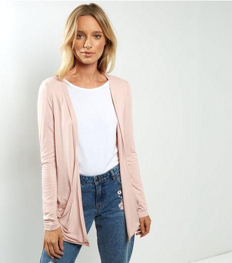 Pink Boyfriend Cardigan  | New Look