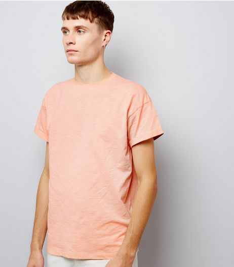 Pink Cotton Short Sleeve T-Shirt  | New Look