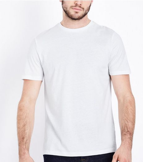 White Crew Neck T-Shirt | New Look