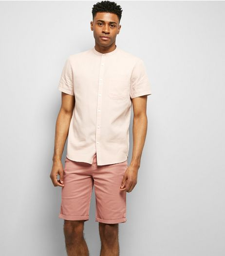 Pink 5 Pocket Slim Leg Shorts | New Look