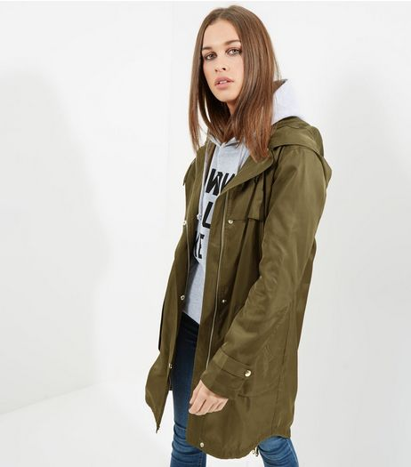 Tall Khaki Lightweight Parka  | New Look