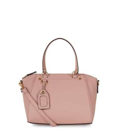 Pink Mini Bowler Bag | New Look