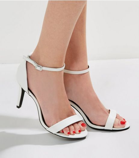 Wide Fit Wide Ankle Strap Heels | New Look