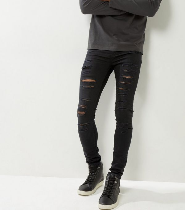 Mens Black Jeans | Skinny, Ripped, Wash & More | New Look