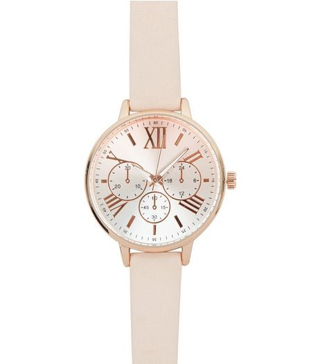 Pink Mini Dial Watch  | New Look