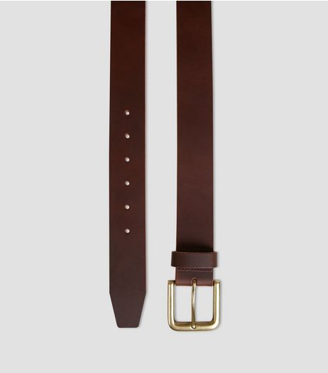 Brown Leather Jeans Belt | New Look