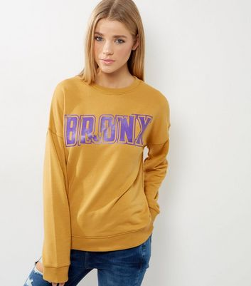 Yellow Bronx Sweater
