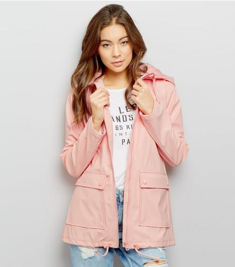 Pink Matte Anorak | New Look