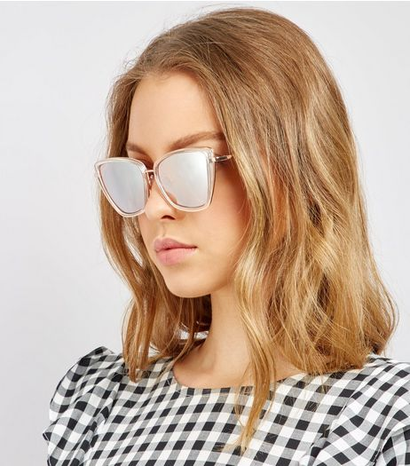Crystal Cat Eye Sunglasses  | New Look