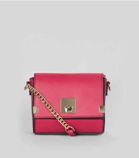 Pink Mini Cross Body Bag | New Look