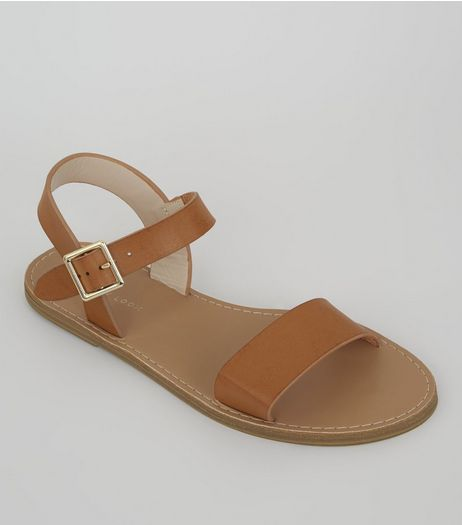 Tan Sandals | New Look