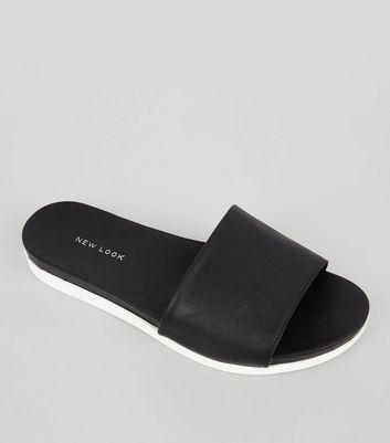 Product photo of Black sports mules